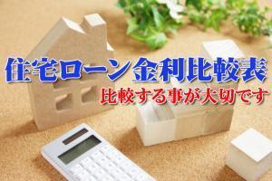 住宅ローン金利比較表