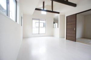 揺れにくい街鎌ケ谷から、東中沢の新築一戸建て