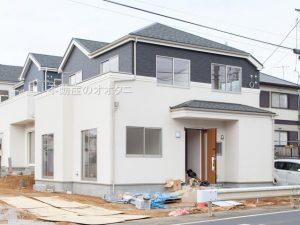 鎌ケ谷市西佐津間、駐車場2台の新築一戸建て